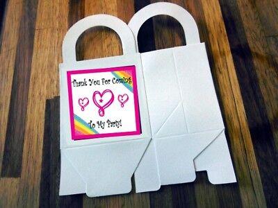 Custom Favor Bags (12 JOJO SIWA loot boxes/bag birthday party favor treat, CUSTOMIZE IT! HEART)