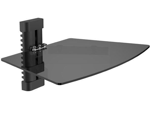 Rack Glas Ablage für Media Player DVD Spieler Halterung Receiver Spielkonsole