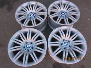 """NICE SET of Genuine BMW 19"""" style 172 M rims E60 in showrm cond"""