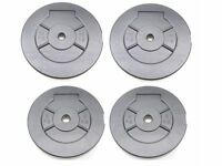 """Weights Plates Vinyl Training Weights 1"""" Fitting Weight Lifting Plates 5kg 10kg NEW!!"""
