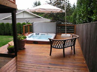 fence, deck, and gazebos