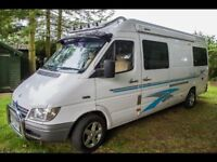 2 berth campervan conversion, RHD manual, MOT Aug18, LWB