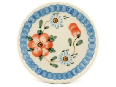 Polish Pottery Stoneware CA Mini Plate Coaster (262-86) Ceramika Artystyczna ()