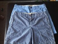 Lot of 2 pairs of Men's Hollister shorts size 33