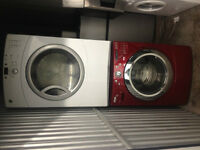 4 yr old Stackable Washer(electric)Dryer(Gas) Whirpool/GE 27'