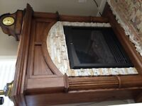 Electric fireplace and heater mint condition
