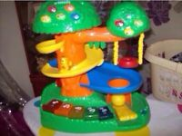 Tree house toy and sit n ride
