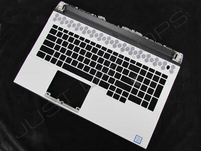 Nuevo Dell Alienware M17 R2 Inglés Eeuu Blanco Reposamanos Teclado Marco 0RHK29