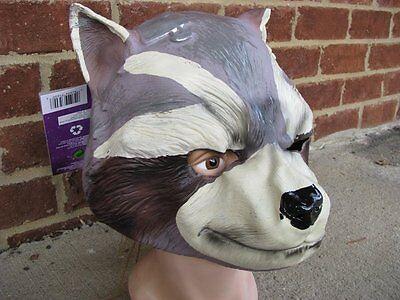 Guardians of the Galaxy Rocket Raccoon 3/4 Mask Child Costume Marvel (Raccoon Mask)