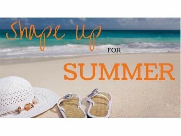 """""""Shape Up For Summer"""" Online Challenge"""