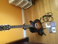 Rocksmiths PS3 with Electric guitar and all accessories