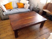 Handsome ethnic coffee table