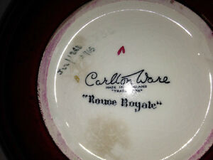 Carlton Ware Vintage Rouge Royale made in England Red & Gold Dec Gatineau Ottawa / Gatineau Area image 5