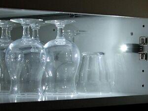 Lampe spot eclairage automatique blanc 2 led pour placard for Eclairage automatique pour dressing