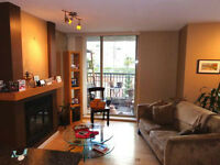 Furnished bedroom in Yaletown 2bdr $1050 (House Cleaning Inc)