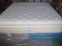 high end serta KING size bed