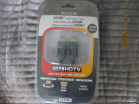 NEW, HDMI CABLE 'BELKIN'
