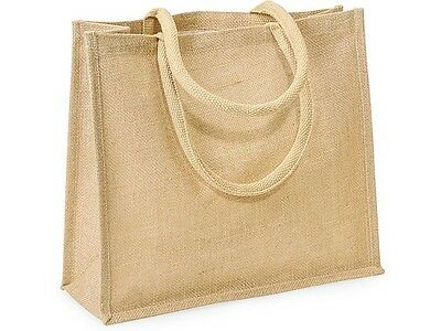 Wedding Totes ( Eco-friendly Burlap Tote Bag ~ Sturdy 16x6x14