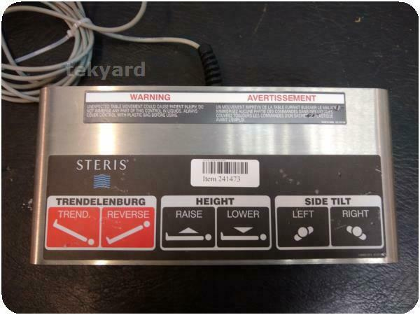 STERIS SURGICAL OR TABLE FOOTSWITCH PEDAL @ (241473)