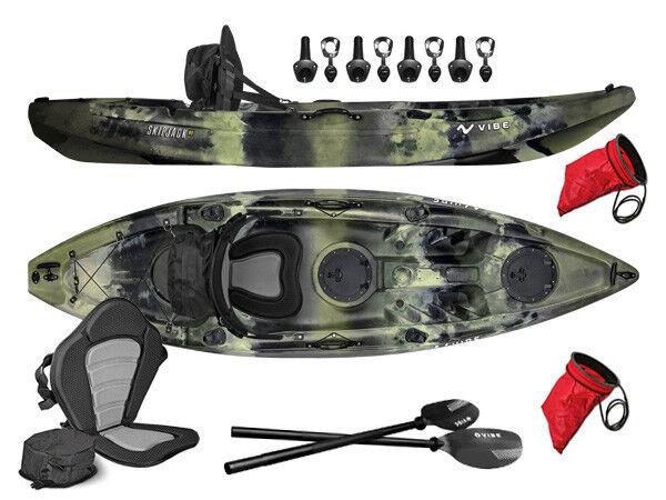 Vibe Kayaks Skipjack 90 | 9ft Angler - Single Person, Sit On