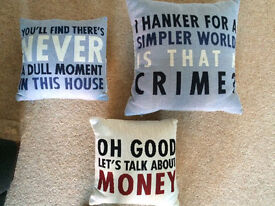 Official Downton abbey quote cushions