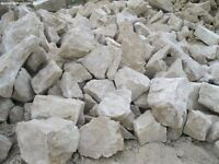 Large lump of rocks (rockery rocks) for a garden