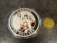 PIÈCE DE **** $50. ***** DE LA MONNAIE ROYALE CANADIENNE