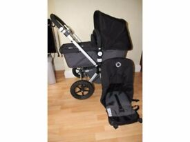 Bugaboo Cameleon 2 with footmuff