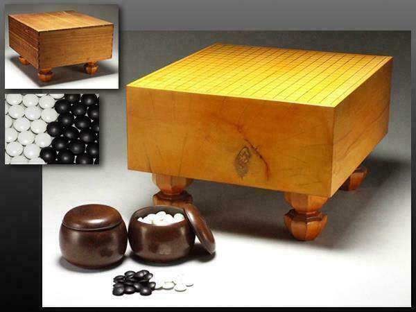 Japanese Vintage GO IGO BOARD / Goban / W 45.5×D 42× H 29[cm] 16.4kg