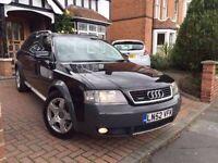 Audi Allroad 2.7 petrol automatic LPG gas conversion full leather 1 year MOT
