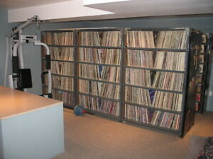 500 HOUSE/BREAKS/DOWNTEMPO/TRANCE/TECHNO VINYL RECORDS!!
