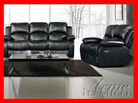 RECLINING SOFA & LOVE ONLY $1099.99 @ YVONNE'S FURNITURE