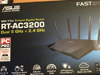 RT-AC3200 802.11 tri band gigabit router