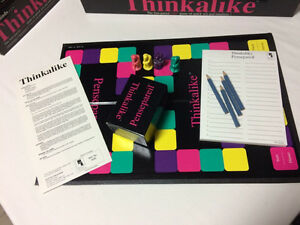 Thinkalike board game from 1990  London Ontario image 3