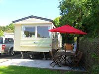 For Sale Static Caravan sited in Kiln Park Tenby