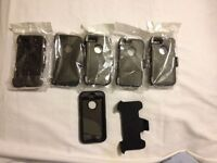 iPhone 5/5S Otterbox Type w/ Clip