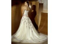 Atelier Diagonal Wedding Dress size 10
