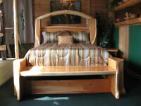 hand crafted beds,one of a kind
