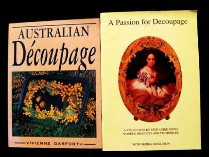Decoupage: Australian + A Passion For [Price is for both]