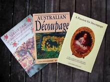 Decoupage Books x 3 [VGC - Lots Of Projects & Info] Loganholme Logan Area Preview