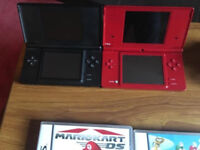 Nintendo ds (two )