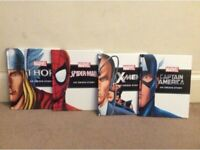 Marvel hero books
