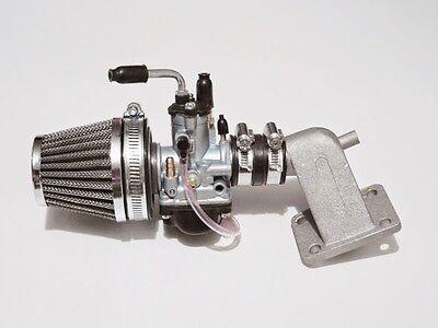 Vergaserkit 21mm Vergaser PHBG Tuning Ansaugstutzen Peugeot Speedfight 2 II 50