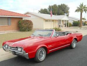 ***1967 Olds Cutlass Supreme Convertible FOR SALE***