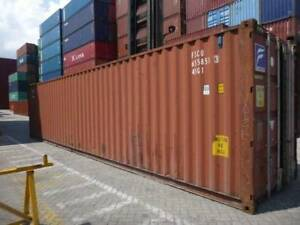 Used 20'ft/40'HC shipping containers