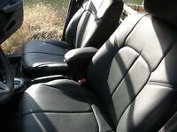 Honda CR-V CRV Interior FRONT Driver side black Leather seat covers
