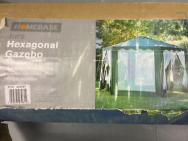 HOMEBASE Hexagonal Gazebo in Box.