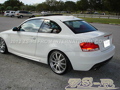 07-13 BMW E82 128i 135i Coupe Painted color Performance Style Trunk (Bmw 135i Coupe)