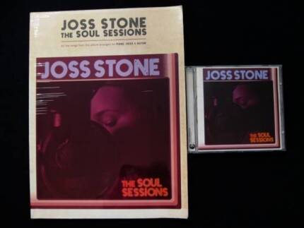 Joss Stone - The Soul Sessions Songbook + CD [Piano/Voice/Guitar]