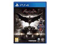Batman Arkham knight -PS4 version